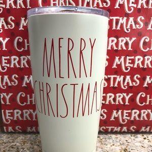 Rae Dunn MERRY CHRISTMAS Insulated Tumbler NWT